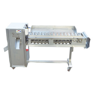 XBF-003鱼类切头切尾机De-heading & tail cutting machine
